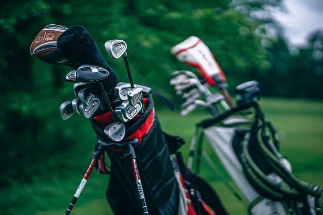 ゴルフバッグの画像です。