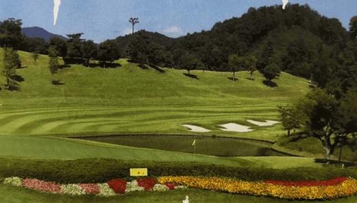 ハーモニーヒルズゴルフクラブのスコアカードの画像です。